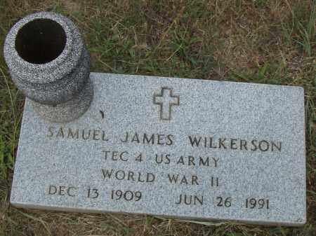 WILKERSON  (VETERAN WWII), SAMUEL JAMES - Pulaski County, Arkansas | SAMUEL JAMES WILKERSON  (VETERAN WWII) - Arkansas Gravestone Photos