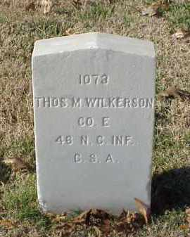 WILKERSON (VETERAN CSA), THOMAS M - Pulaski County, Arkansas | THOMAS M WILKERSON (VETERAN CSA) - Arkansas Gravestone Photos