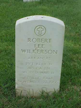 WILKERSON (VETERAN WWII), ROBERT LEE - Pulaski County, Arkansas | ROBERT LEE WILKERSON (VETERAN WWII) - Arkansas Gravestone Photos