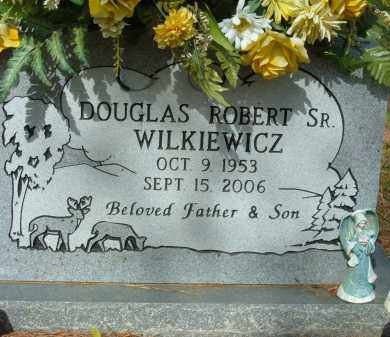 WILKIEWICZ, DOUGLAS ROBERT SR. - Pulaski County, Arkansas | DOUGLAS ROBERT SR. WILKIEWICZ - Arkansas Gravestone Photos