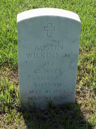 WILKINS, JR (VETERAN 2 WARS), AUSTIN - Pulaski County, Arkansas | AUSTIN WILKINS, JR (VETERAN 2 WARS) - Arkansas Gravestone Photos