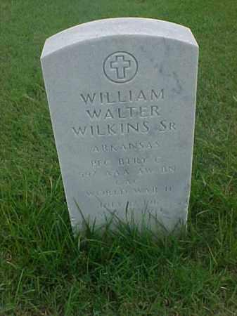 WILKINS, SR (VETERAN WWII), WILLIAM WALTER - Pulaski County, Arkansas | WILLIAM WALTER WILKINS, SR (VETERAN WWII) - Arkansas Gravestone Photos