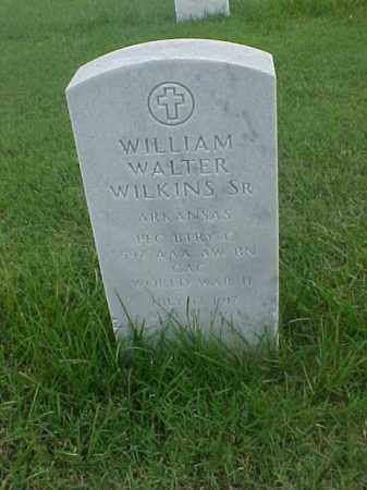 WILKINS, SR (VETERAN 2 WARS), WILLIAM WALTER - Pulaski County, Arkansas | WILLIAM WALTER WILKINS, SR (VETERAN 2 WARS) - Arkansas Gravestone Photos