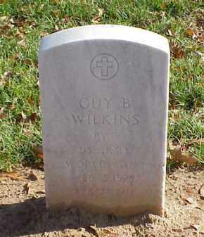 WILKINS (VETERAN WWI), GUY B - Pulaski County, Arkansas | GUY B WILKINS (VETERAN WWI) - Arkansas Gravestone Photos