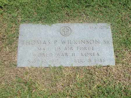 WILKINSON, SR (VETERAN 2 WARS), THOMAS P - Pulaski County, Arkansas | THOMAS P WILKINSON, SR (VETERAN 2 WARS) - Arkansas Gravestone Photos
