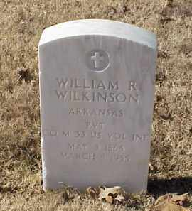 WILKINSON (VETERAN SAW), WILLIAM R - Pulaski County, Arkansas | WILLIAM R WILKINSON (VETERAN SAW) - Arkansas Gravestone Photos