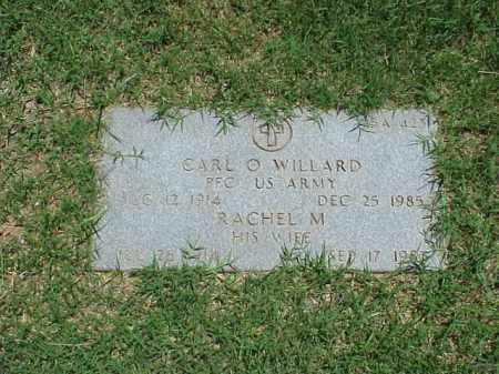 WILLARD (VETERAN WWII), CARL O - Pulaski County, Arkansas | CARL O WILLARD (VETERAN WWII) - Arkansas Gravestone Photos