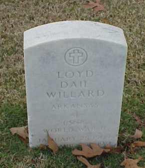 WILLARD (VETERAN WWII), LOYD DAIL - Pulaski County, Arkansas | LOYD DAIL WILLARD (VETERAN WWII) - Arkansas Gravestone Photos
