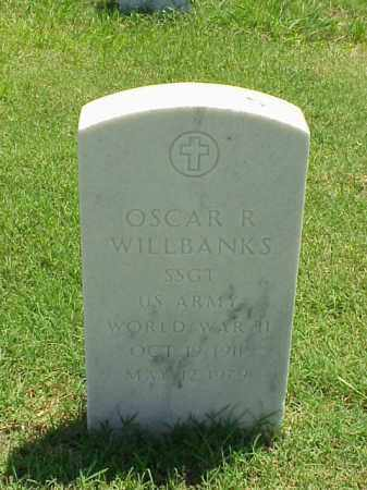 WILLBANKS (VETERAN WWII), OSCAR R - Pulaski County, Arkansas | OSCAR R WILLBANKS (VETERAN WWII) - Arkansas Gravestone Photos
