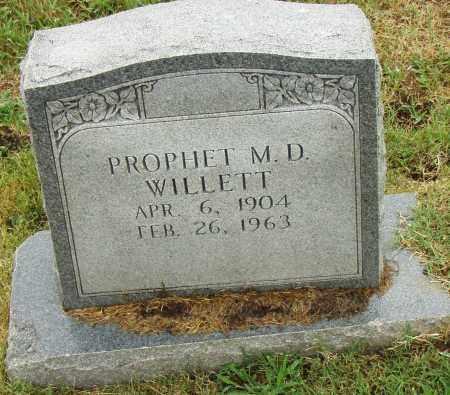 WILLETT, PROPHET - Pulaski County, Arkansas | PROPHET WILLETT - Arkansas Gravestone Photos