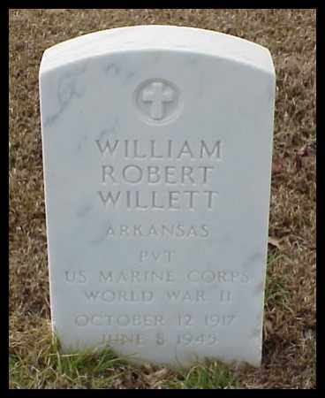 WILLETT (VETERAN WWII), WILLIAM ROBERT - Pulaski County, Arkansas | WILLIAM ROBERT WILLETT (VETERAN WWII) - Arkansas Gravestone Photos
