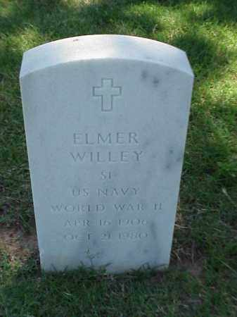 WILLEY (VETERAN WWII), ELMER - Pulaski County, Arkansas | ELMER WILLEY (VETERAN WWII) - Arkansas Gravestone Photos