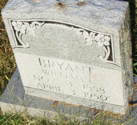 BRYANT, WILLIAM L. - Pulaski County, Arkansas | WILLIAM L. BRYANT - Arkansas Gravestone Photos