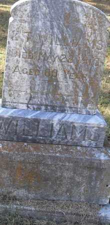WILLIAMS, Z T - Pulaski County, Arkansas | Z T WILLIAMS - Arkansas Gravestone Photos