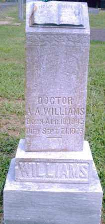 WILLIAMS, A. A. - Pulaski County, Arkansas | A. A. WILLIAMS - Arkansas Gravestone Photos