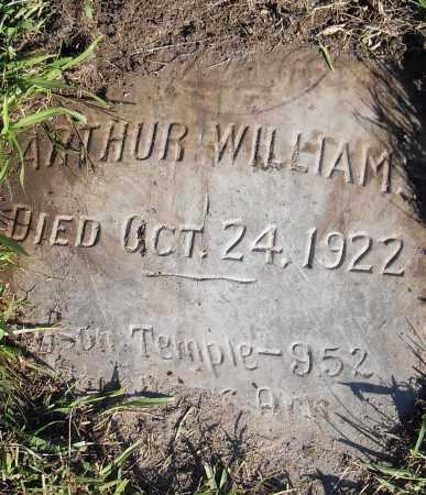 WILLIAMS, ARTHUR - Pulaski County, Arkansas   ARTHUR WILLIAMS - Arkansas Gravestone Photos