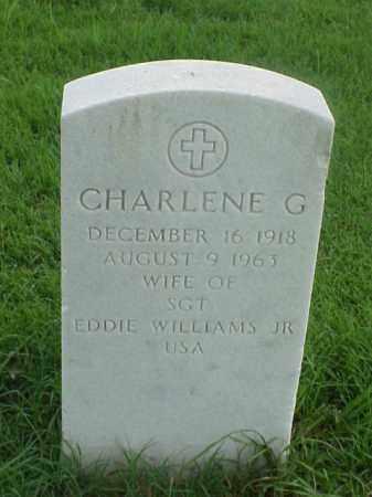 WILLIAMS, CHARLENE G - Pulaski County, Arkansas | CHARLENE G WILLIAMS - Arkansas Gravestone Photos