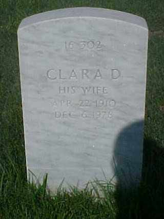 WILLIAMS, CLARA D - Pulaski County, Arkansas | CLARA D WILLIAMS - Arkansas Gravestone Photos
