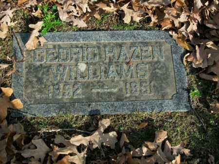 WILLIAMS, CEDRIC HAZEN - Pulaski County, Arkansas | CEDRIC HAZEN WILLIAMS - Arkansas Gravestone Photos