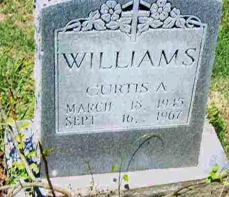 WILLIAMS, CURTIS A. - Pulaski County, Arkansas | CURTIS A. WILLIAMS - Arkansas Gravestone Photos