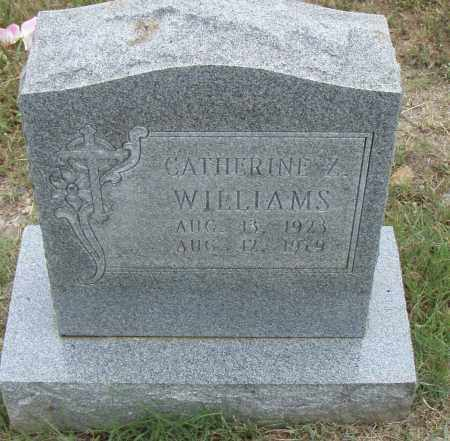WILLIAMS, CATHERINE Z. - Pulaski County, Arkansas | CATHERINE Z. WILLIAMS - Arkansas Gravestone Photos