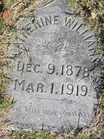 WILLIAMS, CATHERINE - Pulaski County, Arkansas | CATHERINE WILLIAMS - Arkansas Gravestone Photos