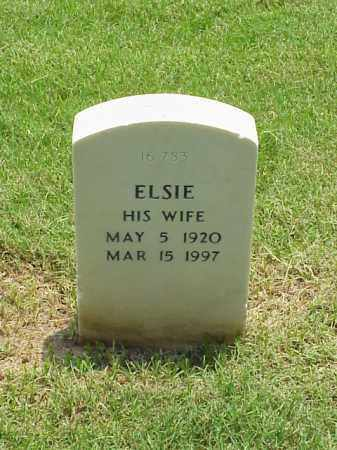 WILLIAMS, ELSIE - Pulaski County, Arkansas | ELSIE WILLIAMS - Arkansas Gravestone Photos