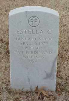 WILLIAMS, ESTELLA C - Pulaski County, Arkansas | ESTELLA C WILLIAMS - Arkansas Gravestone Photos