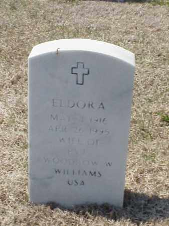 WILLIAMS, ELDORA - Pulaski County, Arkansas | ELDORA WILLIAMS - Arkansas Gravestone Photos