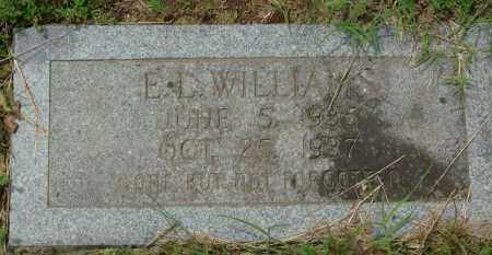 WILLIAMS, E. L. - Pulaski County, Arkansas | E. L. WILLIAMS - Arkansas Gravestone Photos