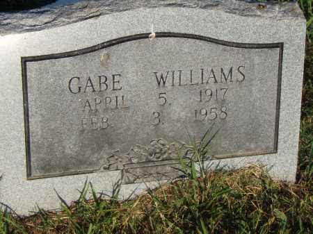 WILLIAMS, GABE - Pulaski County, Arkansas   GABE WILLIAMS - Arkansas Gravestone Photos