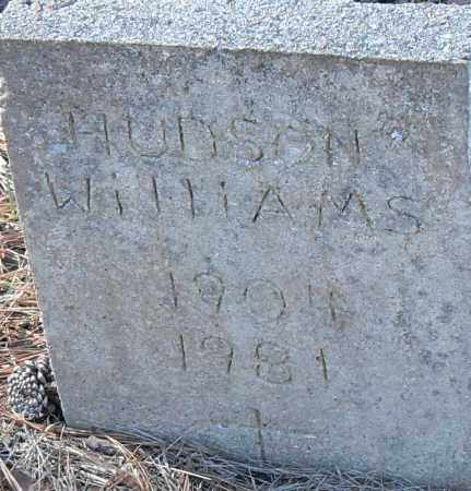 WILLIAMS, HUDSON - Pulaski County, Arkansas | HUDSON WILLIAMS - Arkansas Gravestone Photos