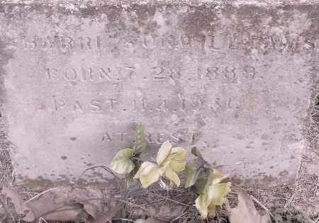 WILLIAMS, HARRISON - Pulaski County, Arkansas | HARRISON WILLIAMS - Arkansas Gravestone Photos