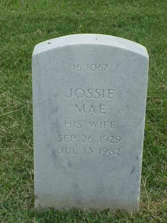 WILLIAMS, JOSSIE MAE - Pulaski County, Arkansas | JOSSIE MAE WILLIAMS - Arkansas Gravestone Photos