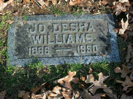 WILLIAMS, JO DESHA - Pulaski County, Arkansas | JO DESHA WILLIAMS - Arkansas Gravestone Photos
