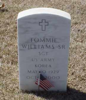 WILLIAMS, SR  (VETERAN KOR), TOMMIE - Pulaski County, Arkansas | TOMMIE WILLIAMS, SR  (VETERAN KOR) - Arkansas Gravestone Photos