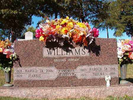 WILLIAMS, SR, HAROLD - Pulaski County, Arkansas | HAROLD WILLIAMS, SR - Arkansas Gravestone Photos