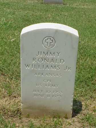 WILLIAMS, JR (VETERAN VIET), JIMMY RONALD - Pulaski County, Arkansas | JIMMY RONALD WILLIAMS, JR (VETERAN VIET) - Arkansas Gravestone Photos