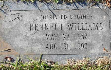 WILLIAMS, KENNETH - Pulaski County, Arkansas | KENNETH WILLIAMS - Arkansas Gravestone Photos