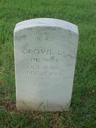 WILLIAMS, LOVIE L - Pulaski County, Arkansas | LOVIE L WILLIAMS - Arkansas Gravestone Photos
