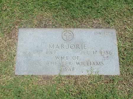 WILLIAMS, MARJORIE - Pulaski County, Arkansas | MARJORIE WILLIAMS - Arkansas Gravestone Photos