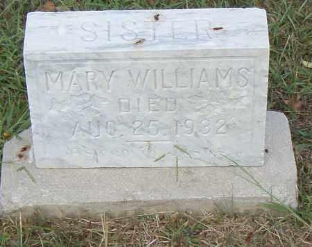WILLIAMS, MARY - Pulaski County, Arkansas | MARY WILLIAMS - Arkansas Gravestone Photos