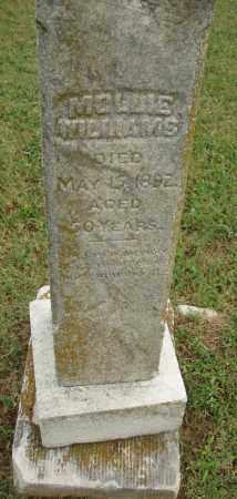 WILLIAMS, MOLLIE - Pulaski County, Arkansas   MOLLIE WILLIAMS - Arkansas Gravestone Photos