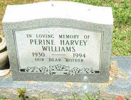 WILLIAMS, PERINE - Pulaski County, Arkansas | PERINE WILLIAMS - Arkansas Gravestone Photos