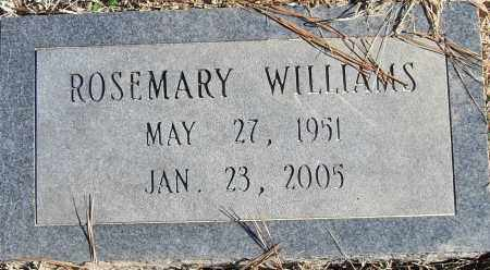 WILLIAMS, ROSEMARY - Pulaski County, Arkansas | ROSEMARY WILLIAMS - Arkansas Gravestone Photos
