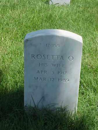 WILLIAMS, ROSETTA O - Pulaski County, Arkansas   ROSETTA O WILLIAMS - Arkansas Gravestone Photos