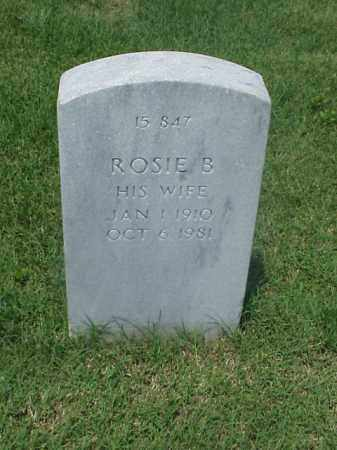 WILLIAMS, ROSIE B - Pulaski County, Arkansas | ROSIE B WILLIAMS - Arkansas Gravestone Photos