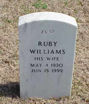 WILLIAMS, RUBY - Pulaski County, Arkansas | RUBY WILLIAMS - Arkansas Gravestone Photos