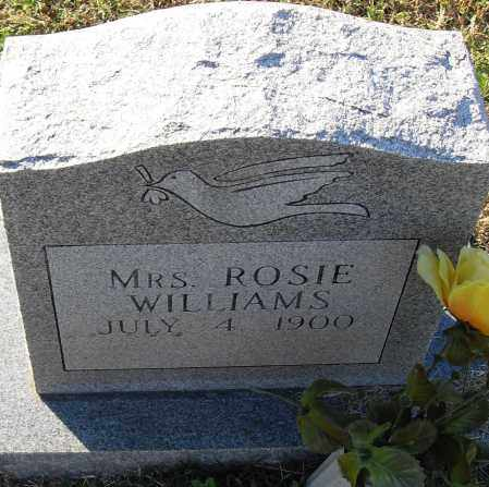 WILLIAMS, ROSIE - Pulaski County, Arkansas | ROSIE WILLIAMS - Arkansas Gravestone Photos