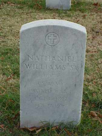 WILLIAMS, SR (VETERAN WWI), NATHANIEL - Pulaski County, Arkansas | NATHANIEL WILLIAMS, SR (VETERAN WWI) - Arkansas Gravestone Photos